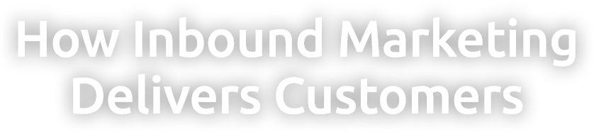 How Inbound Marketing Delivers Customers
