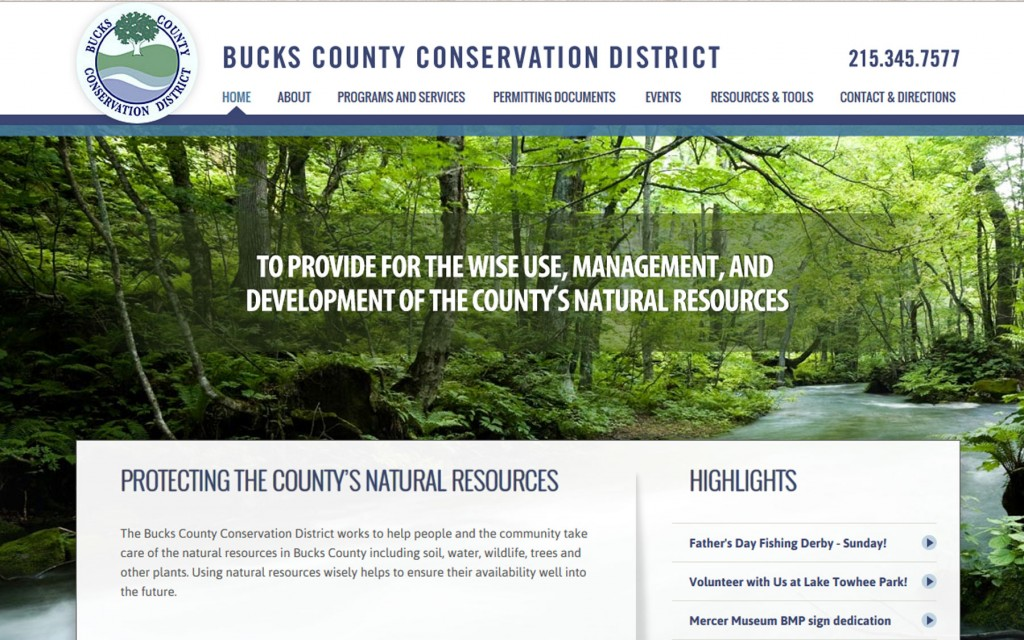 Bucks County Website Design