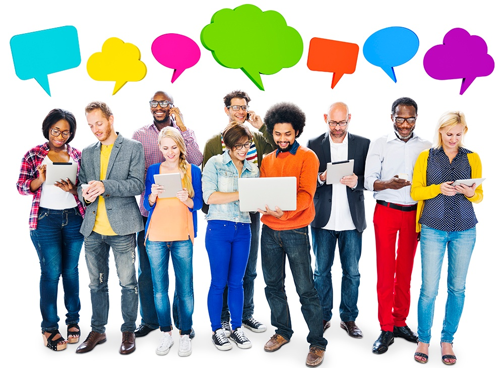 socila media will help you keep in touch with what people say and think. You can ultimately solve a problem.