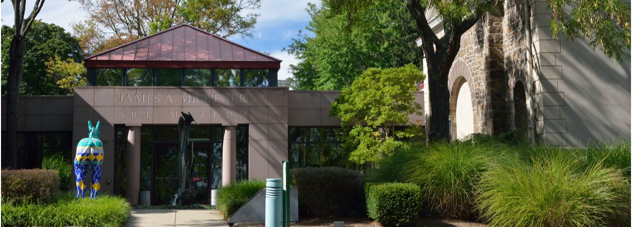 The James A Mitchner art museum located in Doylestown PA near our office on 23 Taylor Ave.