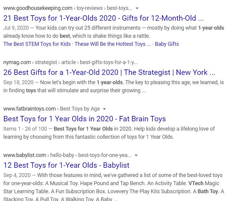"""Search results for """"best toys for 1 year old"""""""