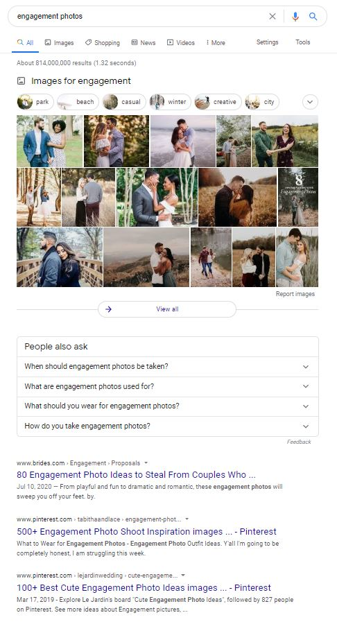 """Search results for """"engagement photos"""""""